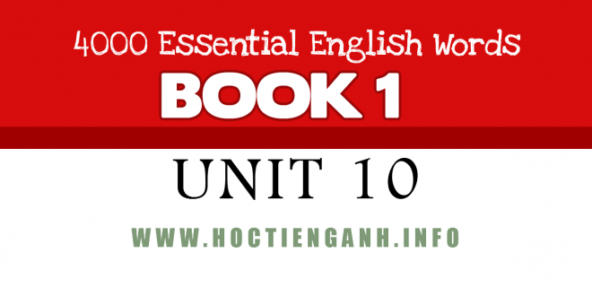 4000Essential english words-unit10