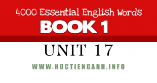 4000Essential english words-unit17