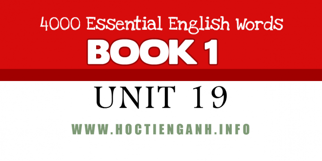 4000Essential english words-unit19
