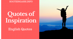 English quotes of Inspiration