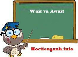 Wait-vs-Await