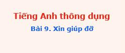 Tienganhthongdung bai9