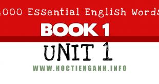 4000Essential english words unit1
