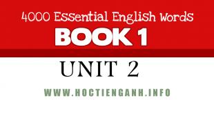 4000Essential english words unit2