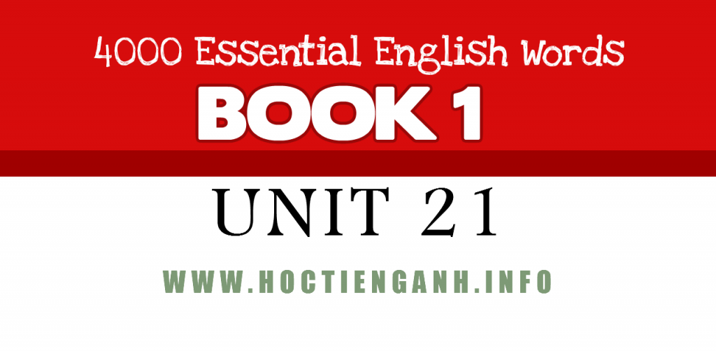 4000Essential english words unit21