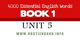 4000Essential english words unit5