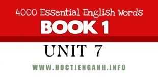 4000Essential english words unit7