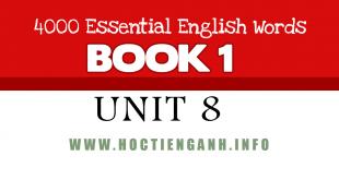 4000Essential english words unit8